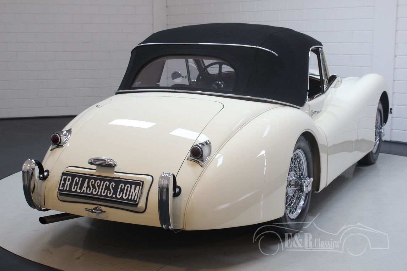 Jaguar XK 120 DHC 1954 Body off restored For Sale (picture 5 of 6)