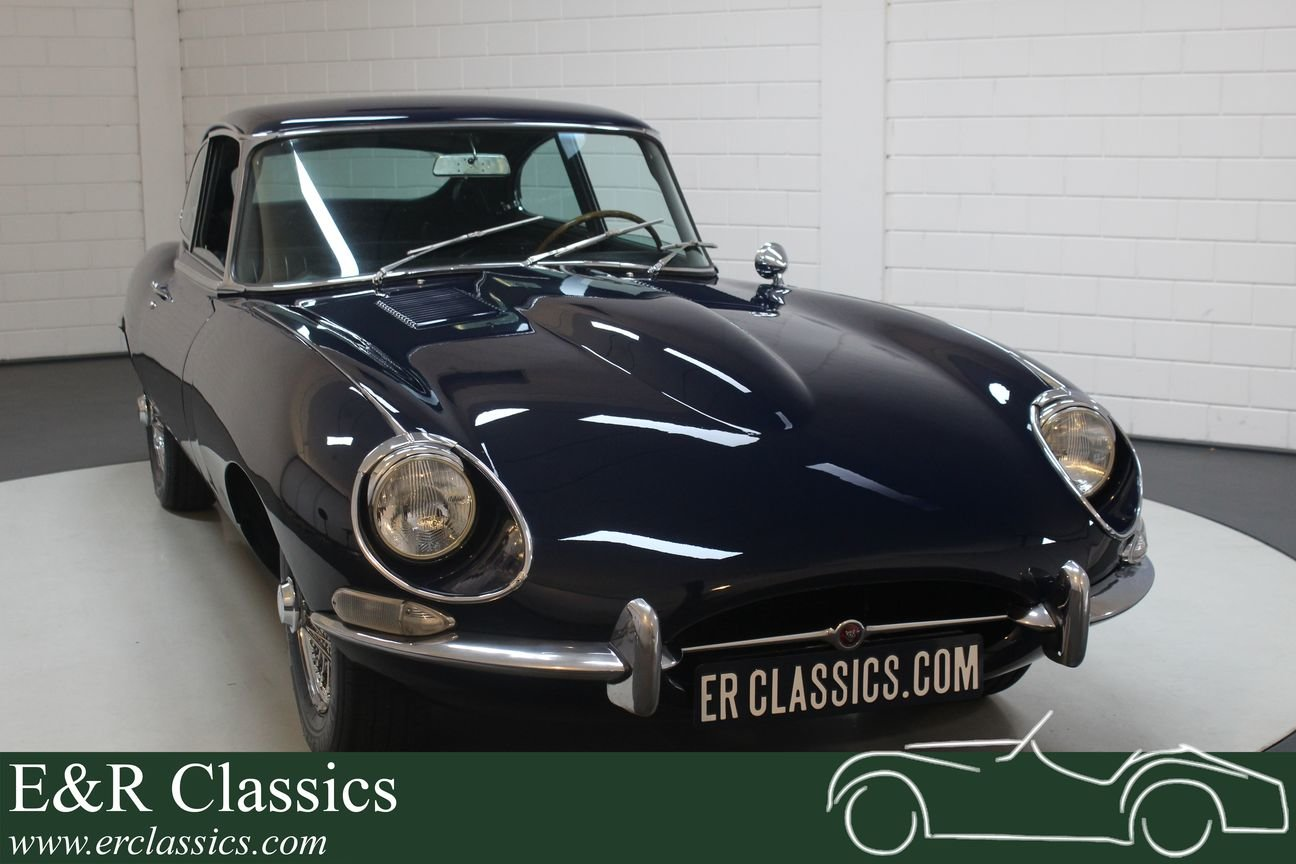 Jaguar E-type S1.5 2 + 2 Coupé 1968 Matching numbers For Sale (picture 1 of 6)