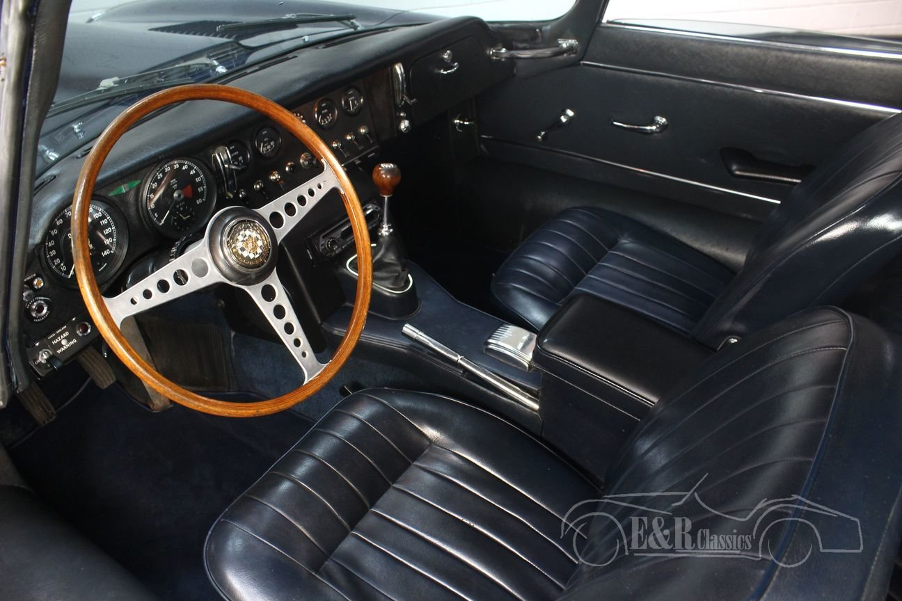 Jaguar E-type S1.5 2 + 2 Coupé 1968 Matching numbers For Sale (picture 3 of 6)