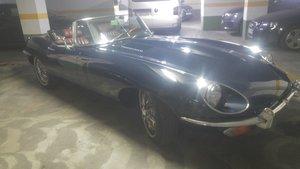 1970 Jaguar E type 4.2 roadster
