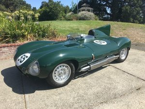 1955 Jaguar XKD Replica / recreation Race Car