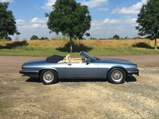 1988 Jaguar XJS V12 Convertible -  FSH Only 54000 miles
