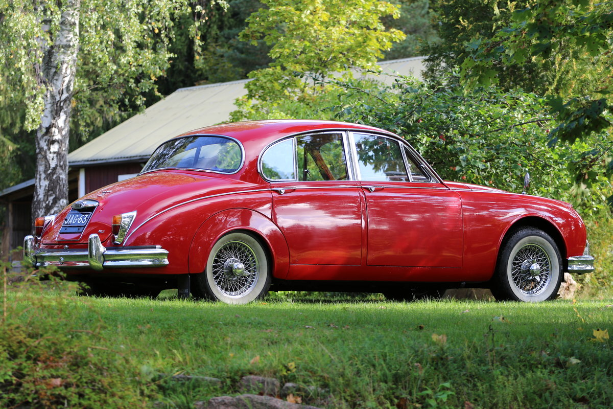 1963 Nice Jaguar Mk. II 3.8 For Sale (picture 1 of 6)