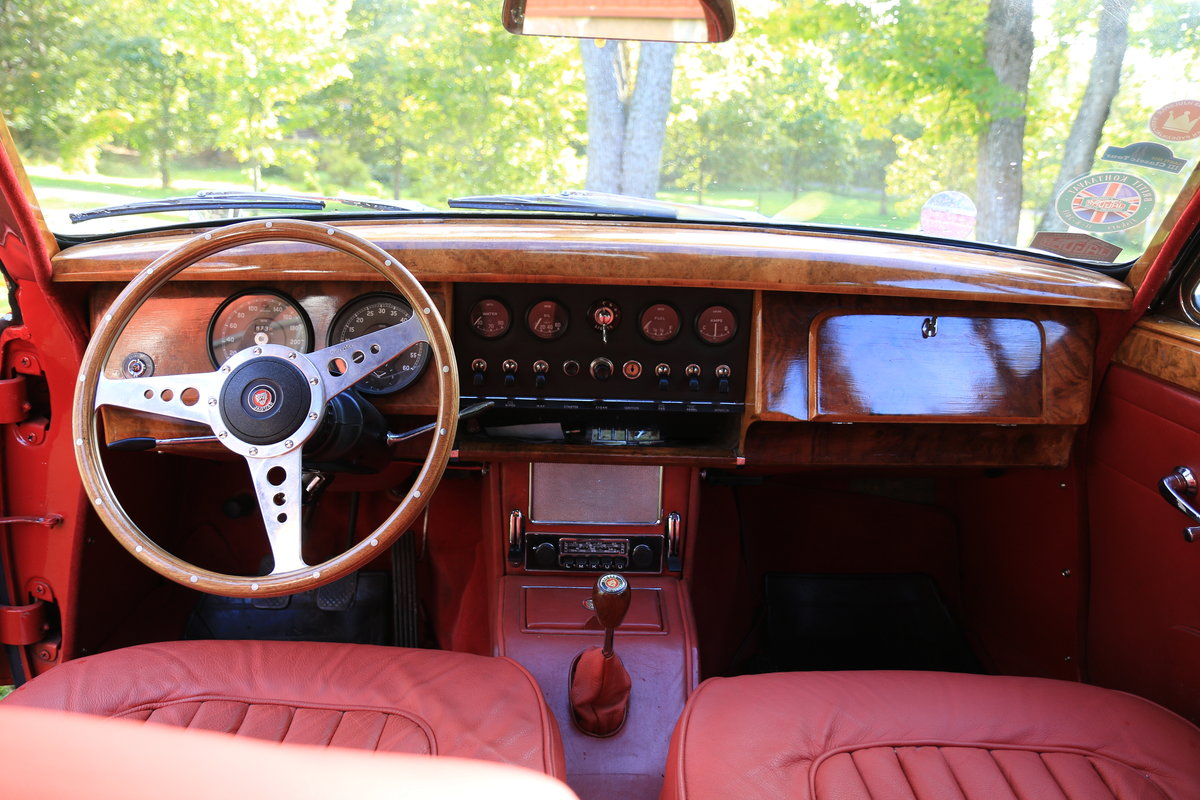 1963 Nice Jaguar Mk. II 3.8 For Sale (picture 4 of 6)