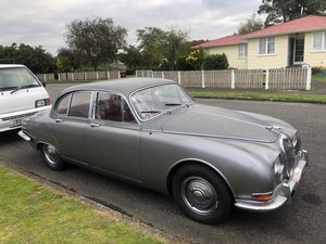 1966 Jaguar S-Type 3.4 Manual - Just 47000 miles + History For Sale by Auction