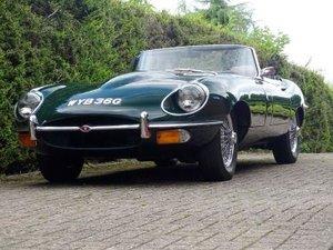1969 Jaguar E-Type 4.2 Roadster For Sale by Auction