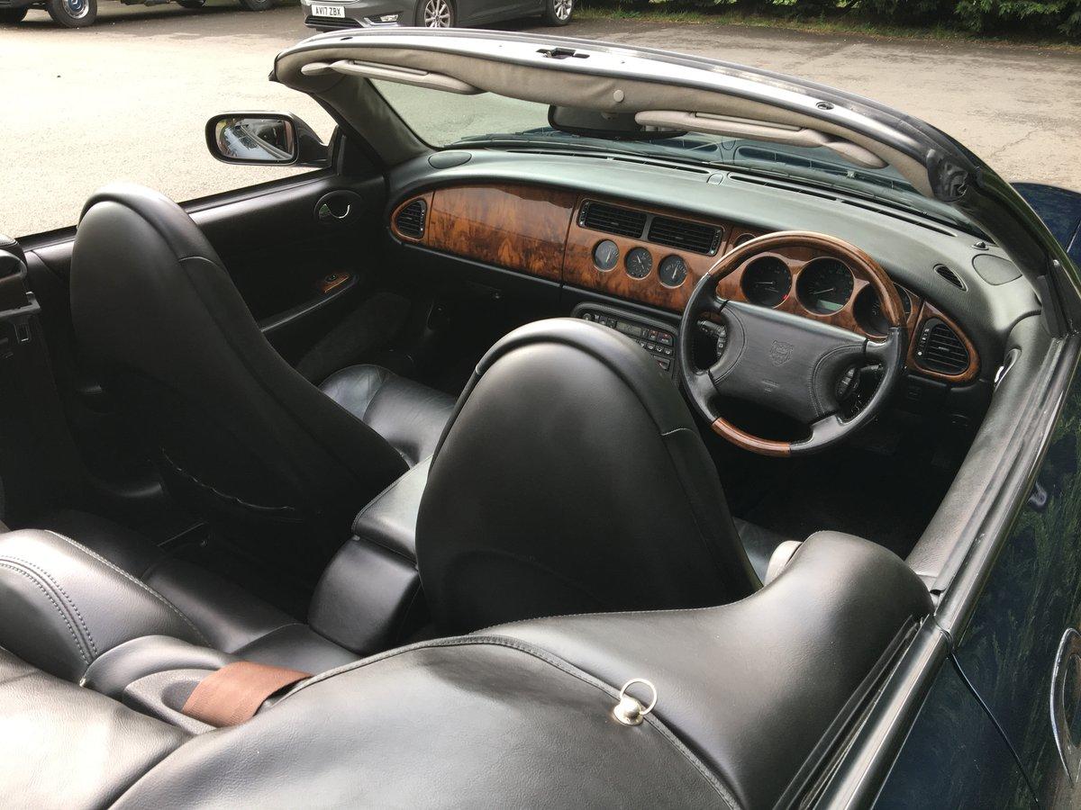 1999 Jaguar XKR Convertible    Lot 808 Estimate £6,000 - £8,000 For Sale by Auction (picture 3 of 6)