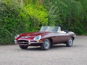 1964 Jaguar E-Type 4.2 Roadster For Sale by Auction