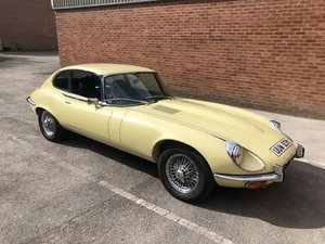 Jaguar E-Type Series 3 V12 Coupe Primrose  For Sale