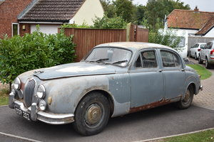 A 1957 Jaguar 3.4 MkI one owner, original cond 03/11/2019