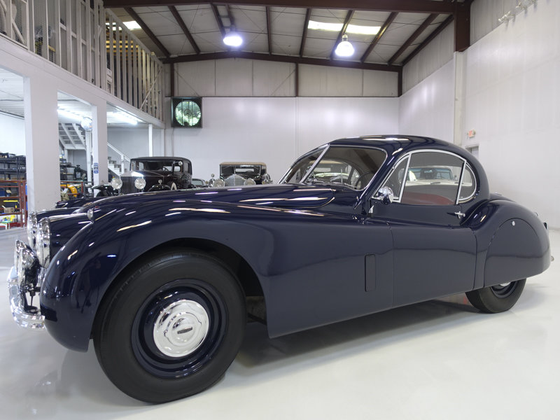 1952 Jaguar XK120 Fixed Head Coupe For Sale (picture 1 of 6)