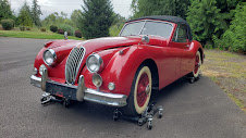 1957 Jaguar XK140 DHC LHD clean Correct Red Driver $99k For Sale (picture 1 of 4)