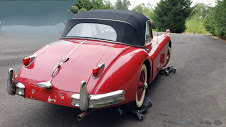 1957 Jaguar XK140 DHC LHD clean Correct Red Driver $99k For Sale (picture 3 of 4)