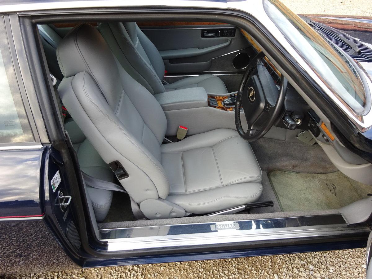 1993 JAGUAR XJS 4.0LTR FACE LIFT MODEL 1 OWNER CAR 46K MILES  For Sale (picture 2 of 6)