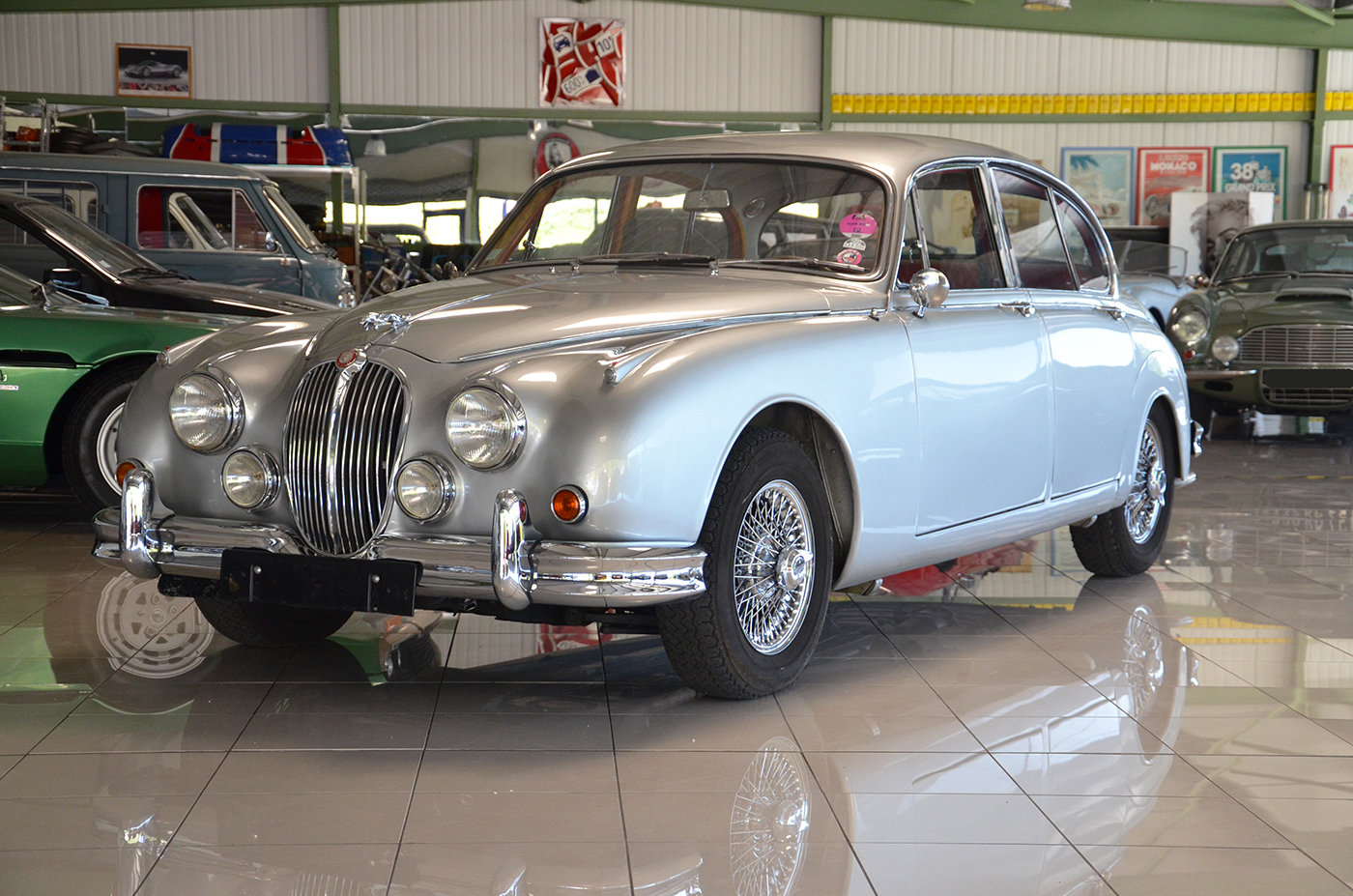 1960 Jaguar MK II 3.8 L - LHD - Top condition For Sale (picture 1 of 6)
