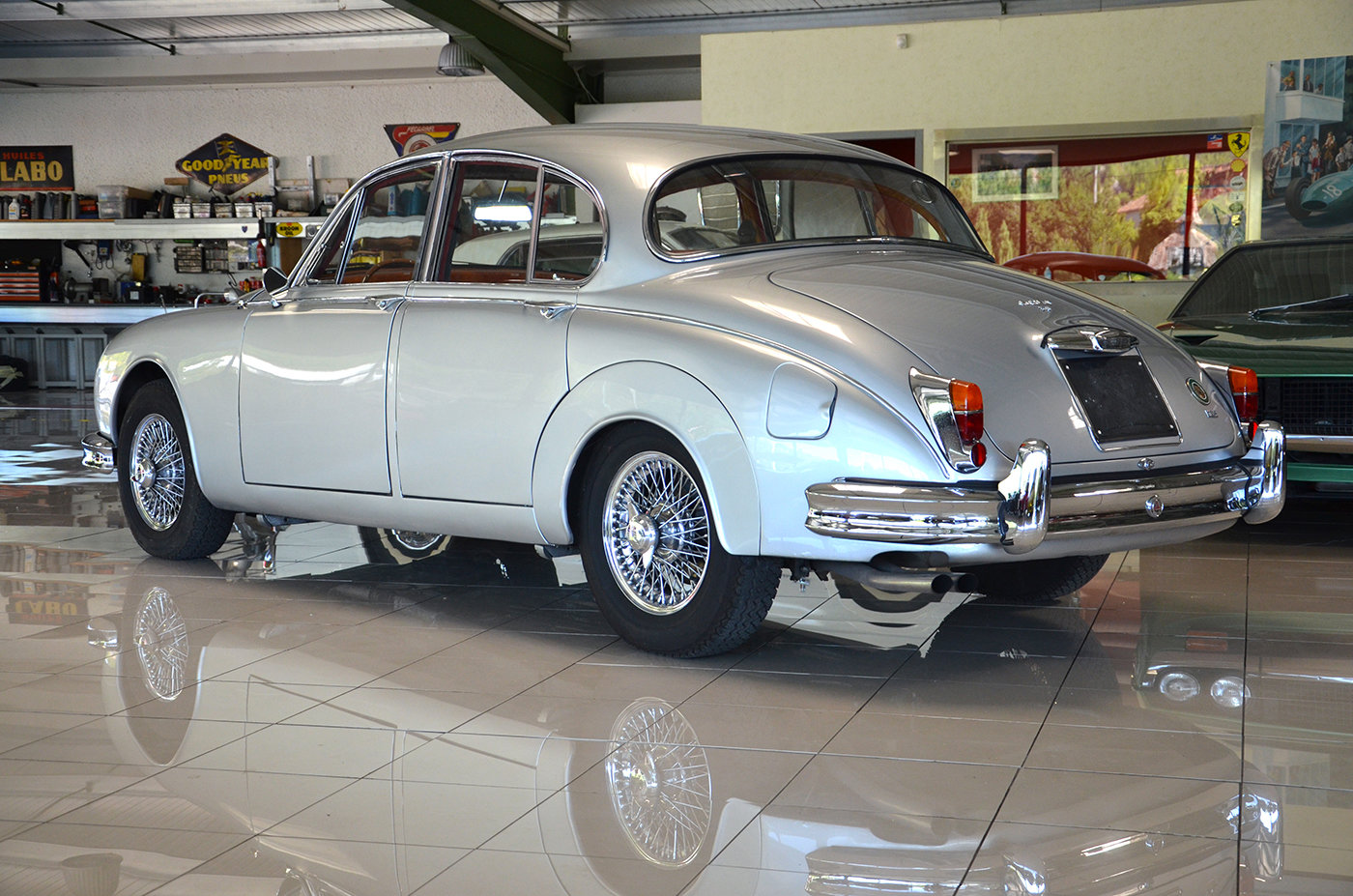 1960 Jaguar MK II 3.8 L - LHD - Top condition For Sale (picture 2 of 6)