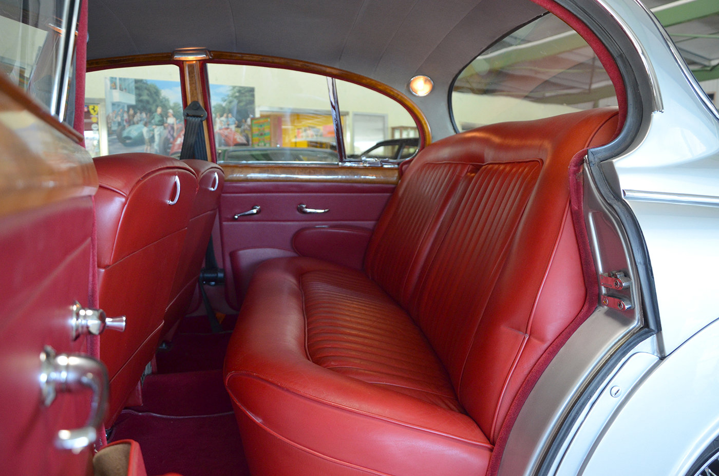1960 Jaguar MK II 3.8 L - LHD - Top condition For Sale (picture 4 of 6)