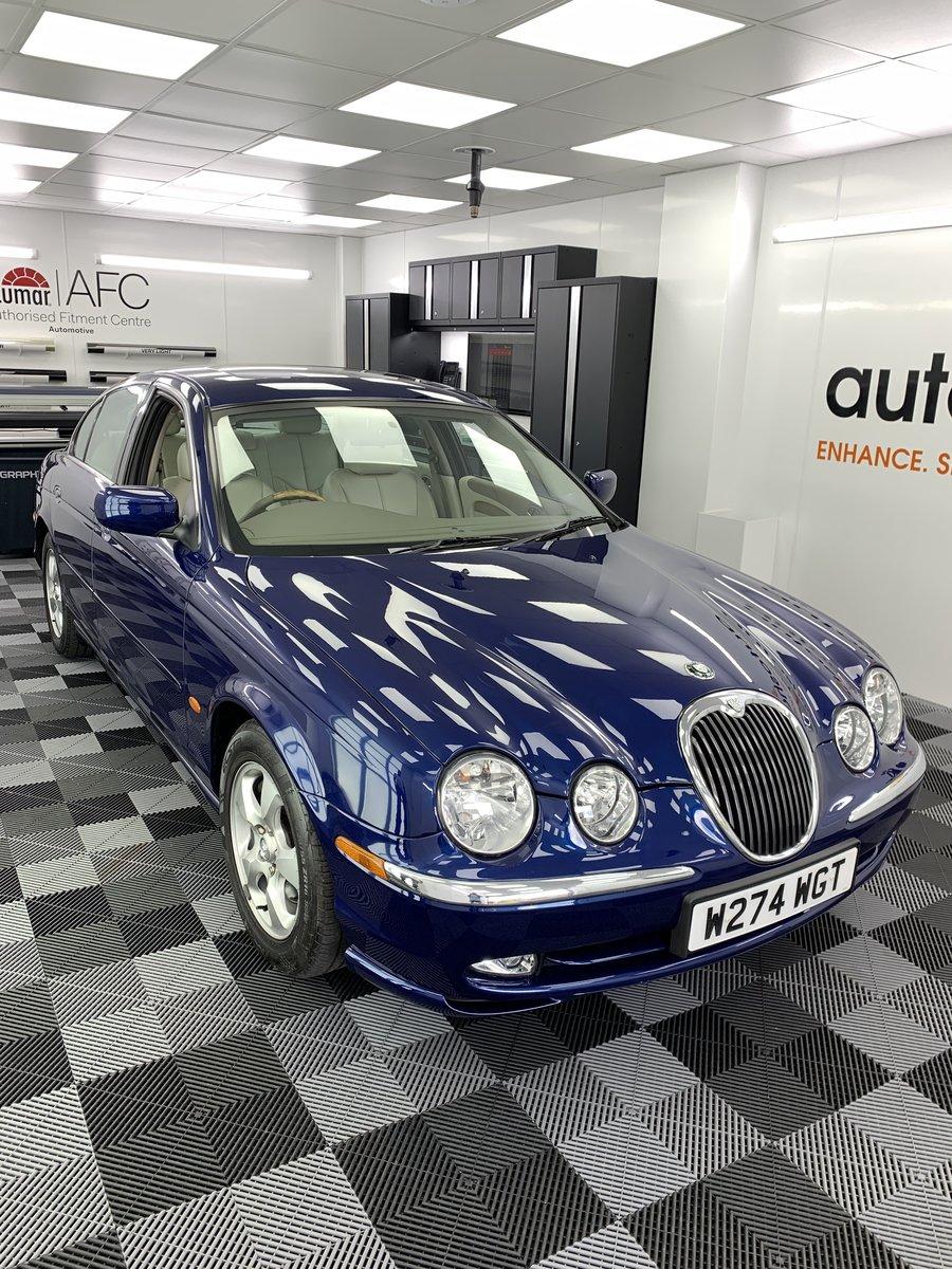 2000 Jaguar s type 3.0 v6 se automatic For Sale (picture 1 of 5)