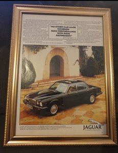 1982 Original Jaguar XJ12 advert For Sale