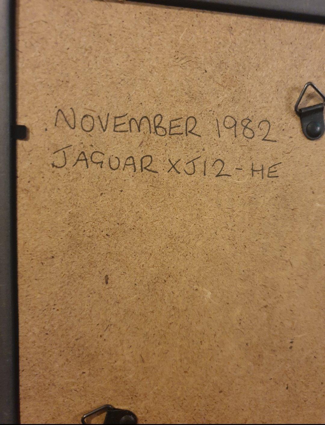 1982 Original Jaguar XJ12 advert For Sale (picture 2 of 2)