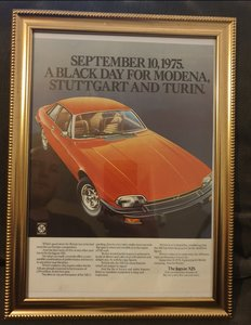 1975 Original Jaguar XJS advert