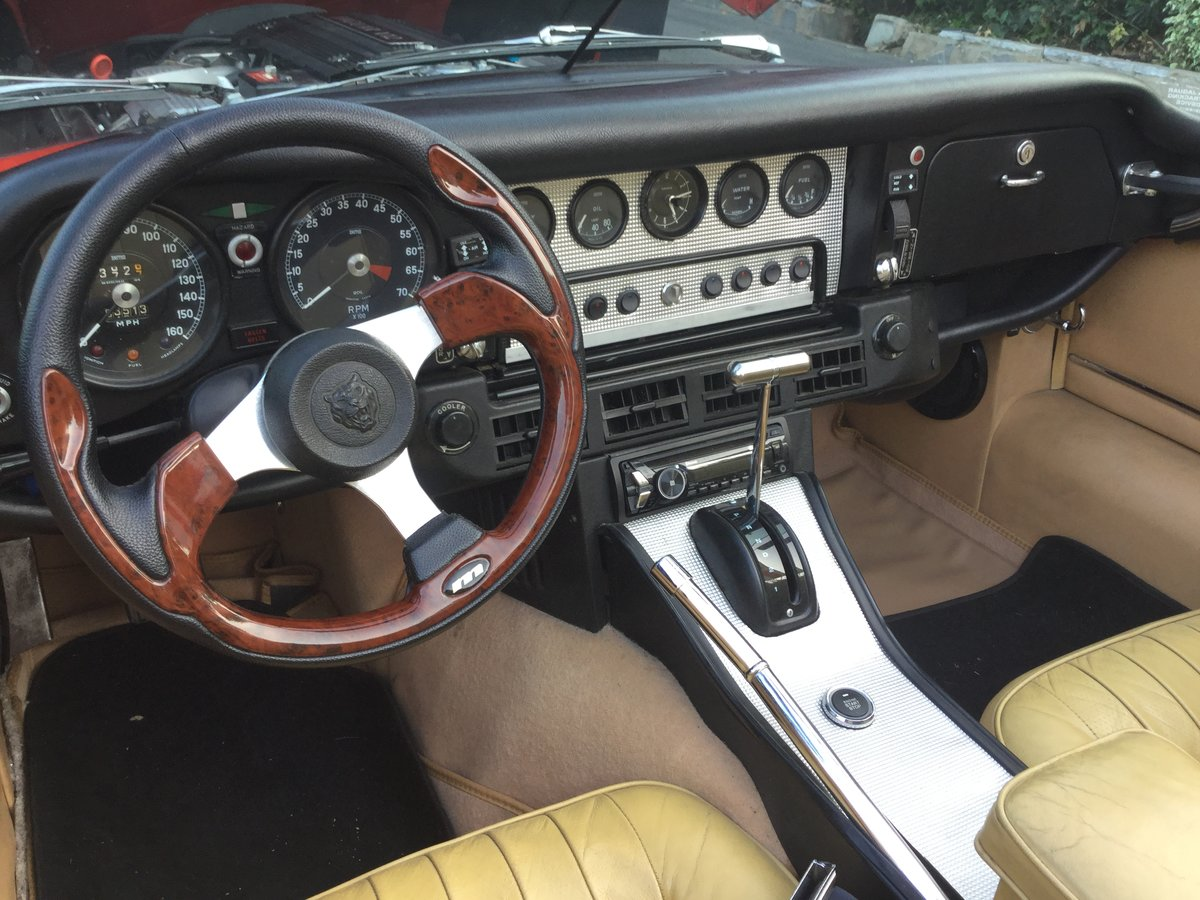 1974 Jaguar E Type V12 Open Top Sports For Sale (picture 2 of 6)