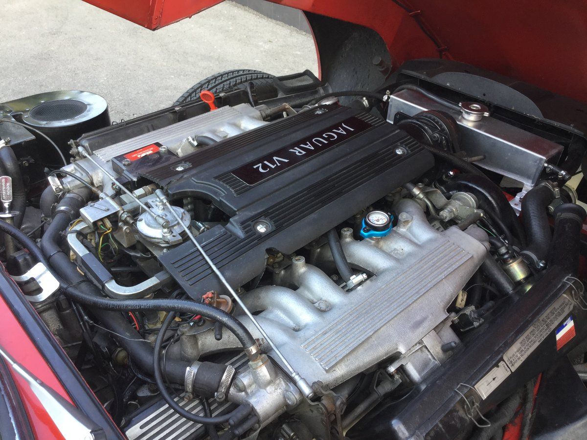 1974 Jaguar E Type V12 Open Top Sports For Sale (picture 3 of 6)