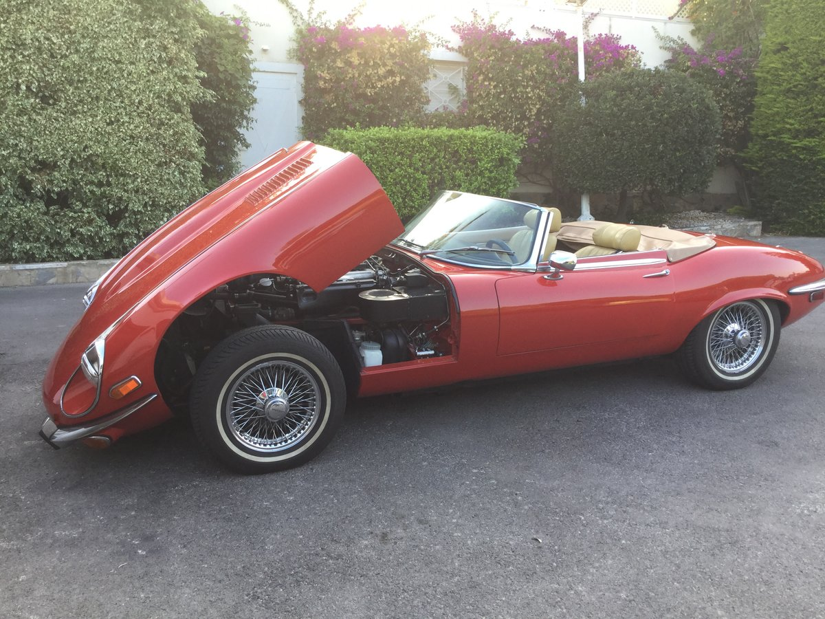 1974 Jaguar E Type V12 Open Top Sports For Sale (picture 4 of 6)