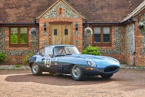 1963 Jaguar 3.8 Series 1 E-Type FHC FIA Competition Car  For Sale