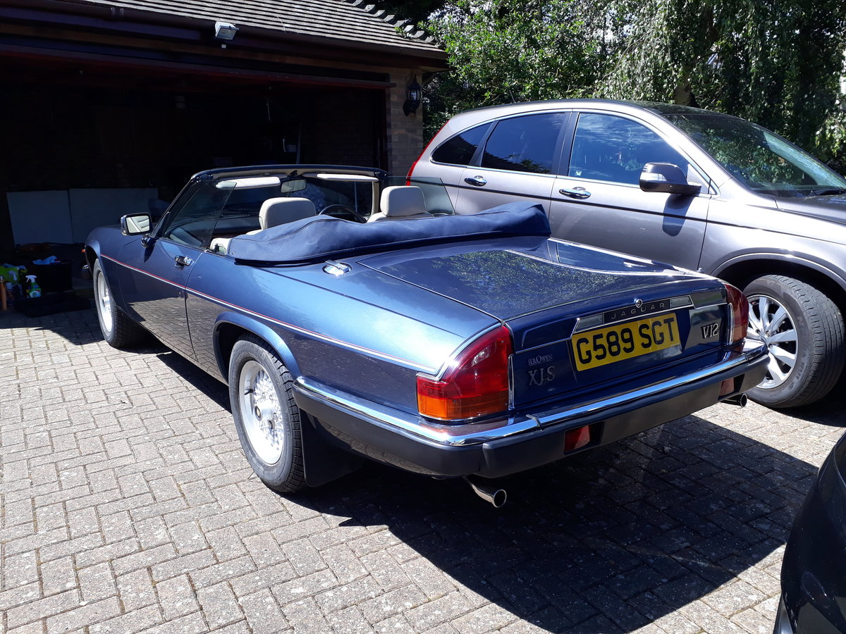 1989 Jaguar XJS Lovely car For Sale (picture 2 of 6)