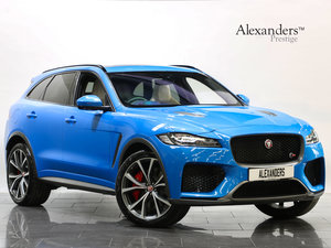 2019 19 19 JAGUAR F-PACE SVR 5.0 SUPERCHARGED V8 AUTO-VAT QUALIFY For Sale