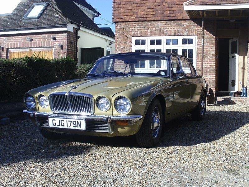 1974 Jaguar xj6 rare lwb 55kmiles truly remarkable SOLD (picture 1 of 6)