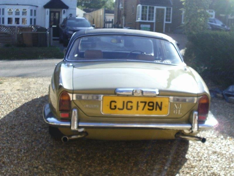 1974 Jaguar xj6 rare lwb 55kmiles truly remarkable SOLD (picture 4 of 6)