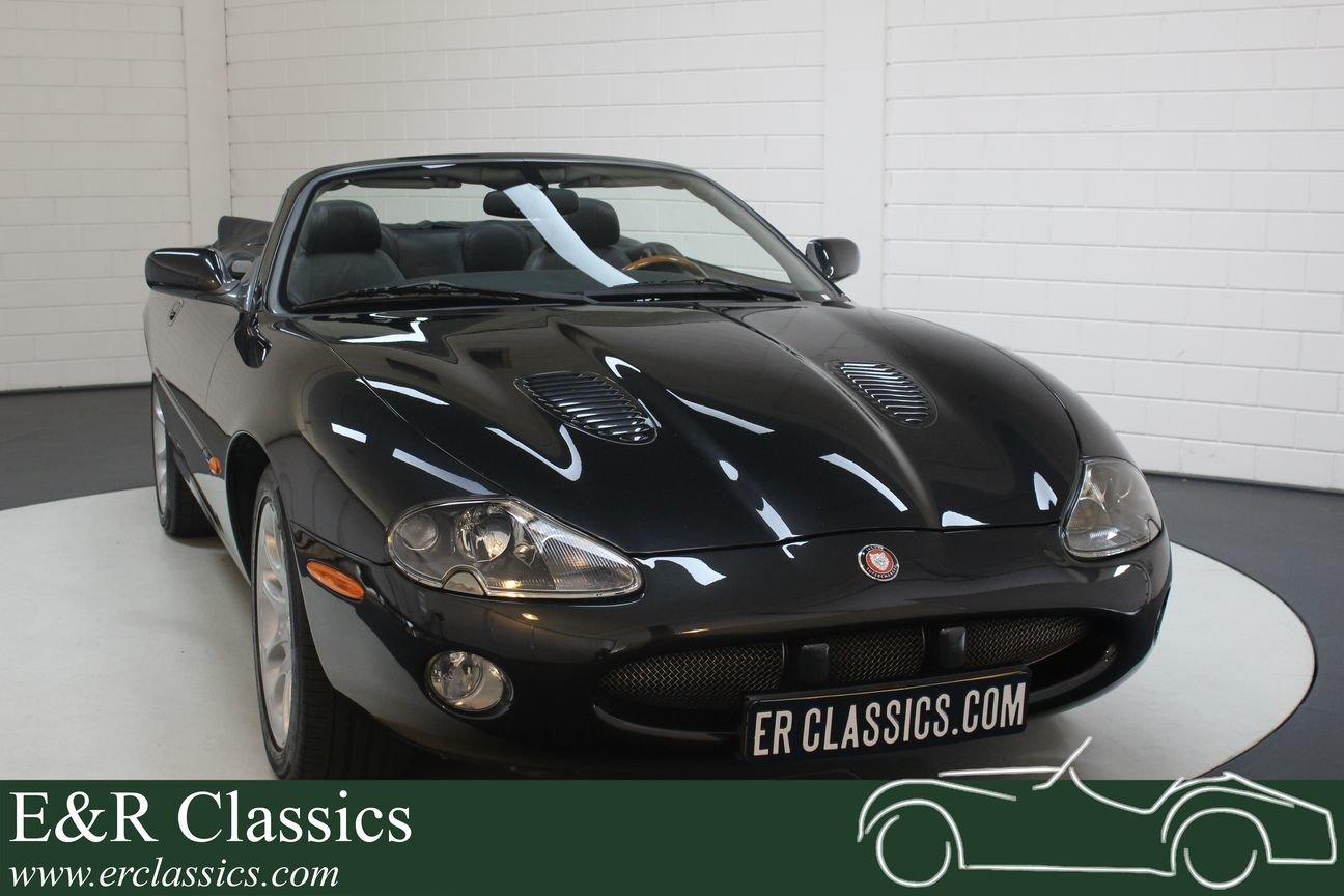 Jaguar XKR Cabriolet 2001 Only 110,462 km For Sale (picture 1 of 6)