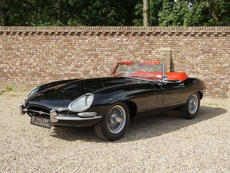 1966 Jaguar E-Type 4.2 series 1 convertible matching numbers, res For Sale (picture 1 of 6)