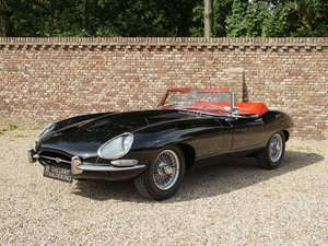 1966 Jaguar E-Type 4.2 series 1 convertible matching numbers, res For Sale