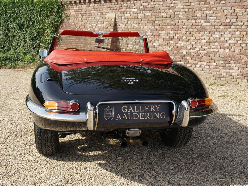 1966 Jaguar E-Type 4.2 series 1 convertible matching numbers, res For Sale (picture 6 of 6)