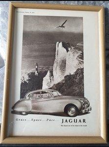 1953 Original Jaguar MK7 advert