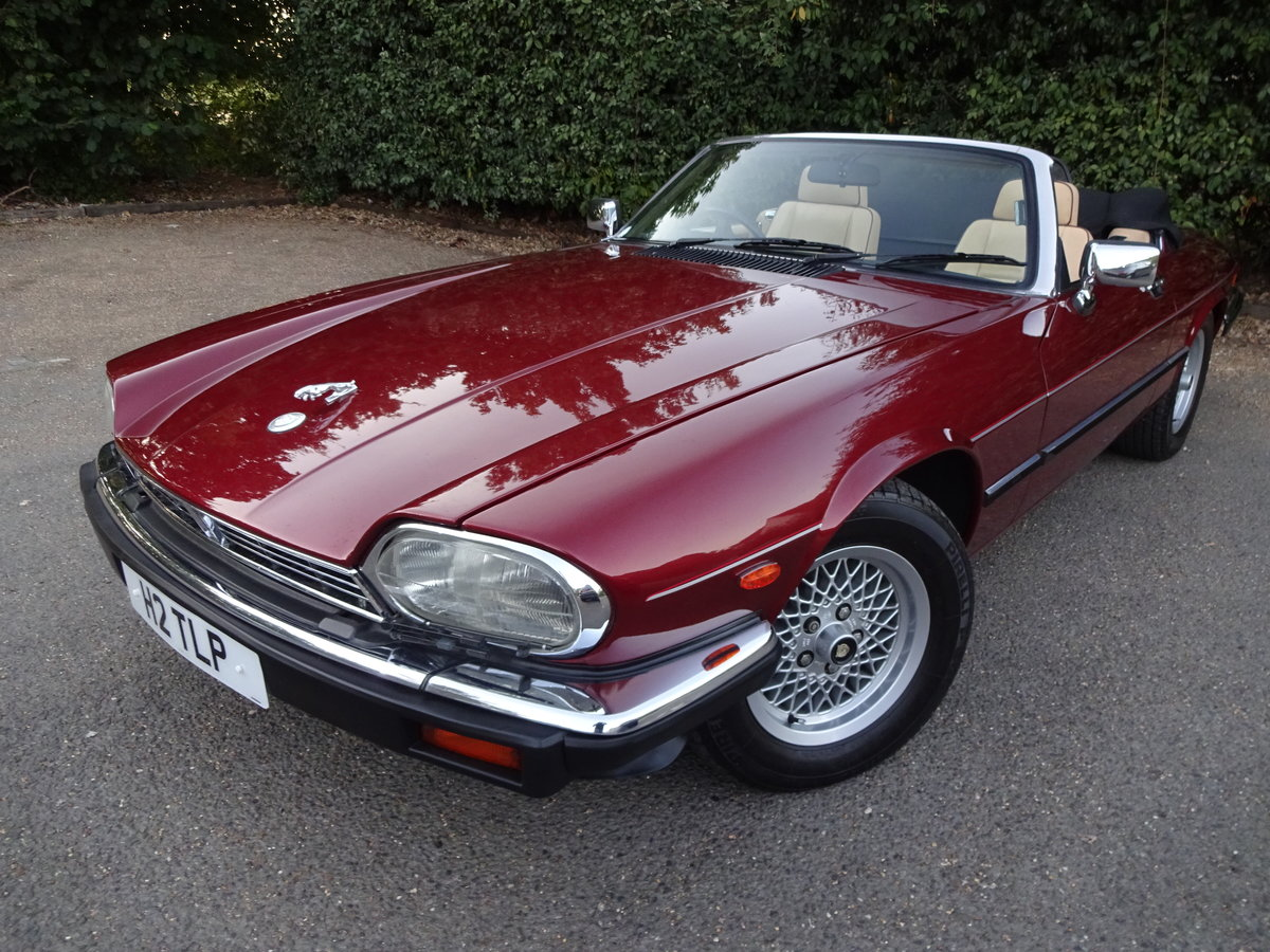 1990 Jaguar xjs v12 covertible concours winner For Sale (picture 1 of 6)