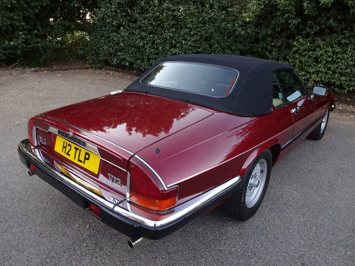 1990 Jaguar xjs v12 covertible concours winner For Sale (picture 3 of 6)