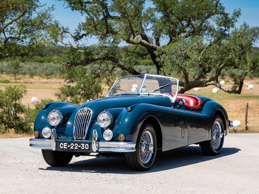 1955 Jaguar XK 140 SE Roadster  For Sale by Auction (picture 1 of 6)