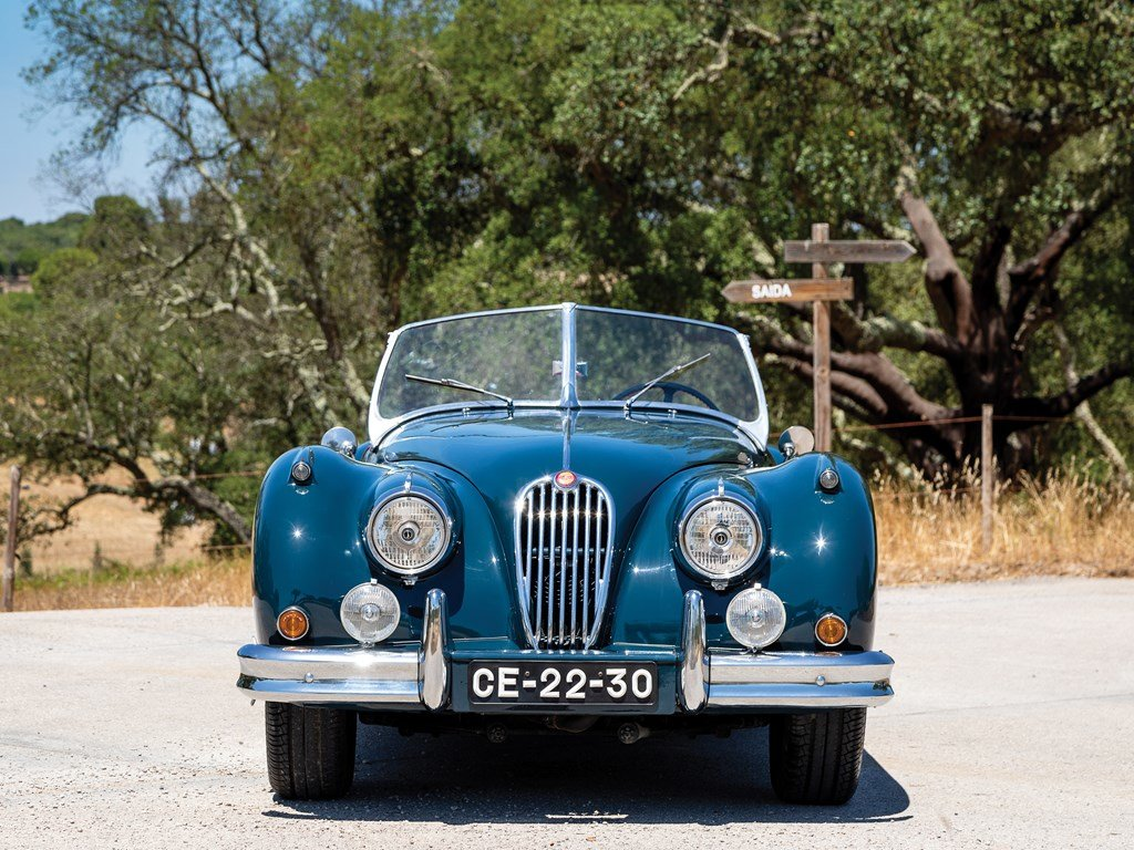 1955 Jaguar XK 140 SE Roadster  For Sale by Auction (picture 6 of 6)