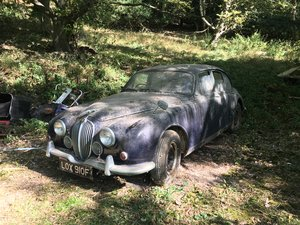 1968 Jaguar mark 2 barn find