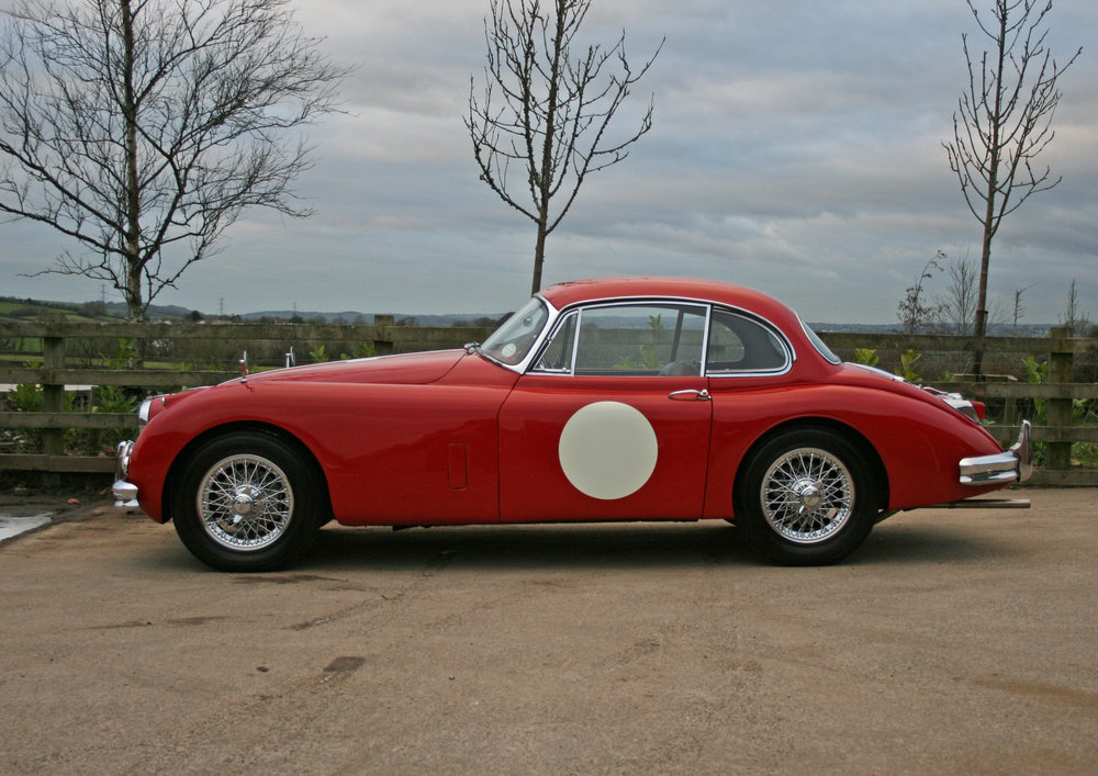1958 JAGUAR XK150 3.8, 5 SPEED For Sale (picture 1 of 6)