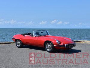 1972 Jaguar E-Type Series 3 V12 Roadster For Sale
