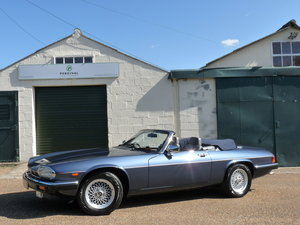 1990 Jaguar XJS V12 Convertible, KWE rebuild & upgrade For Sale