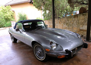 1973 V12 Roadster with 5 speed manual gearbox conversion. For Sale