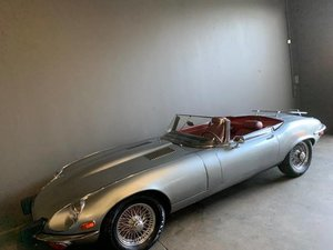 1974 Jaguar XKE Series III Roadster Manual Silver Driver $54 For Sale