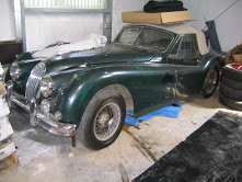 Picture of 1954 Jaguar 1954 XK 140 DHC Correct Green Driver LHD $69k For Sale