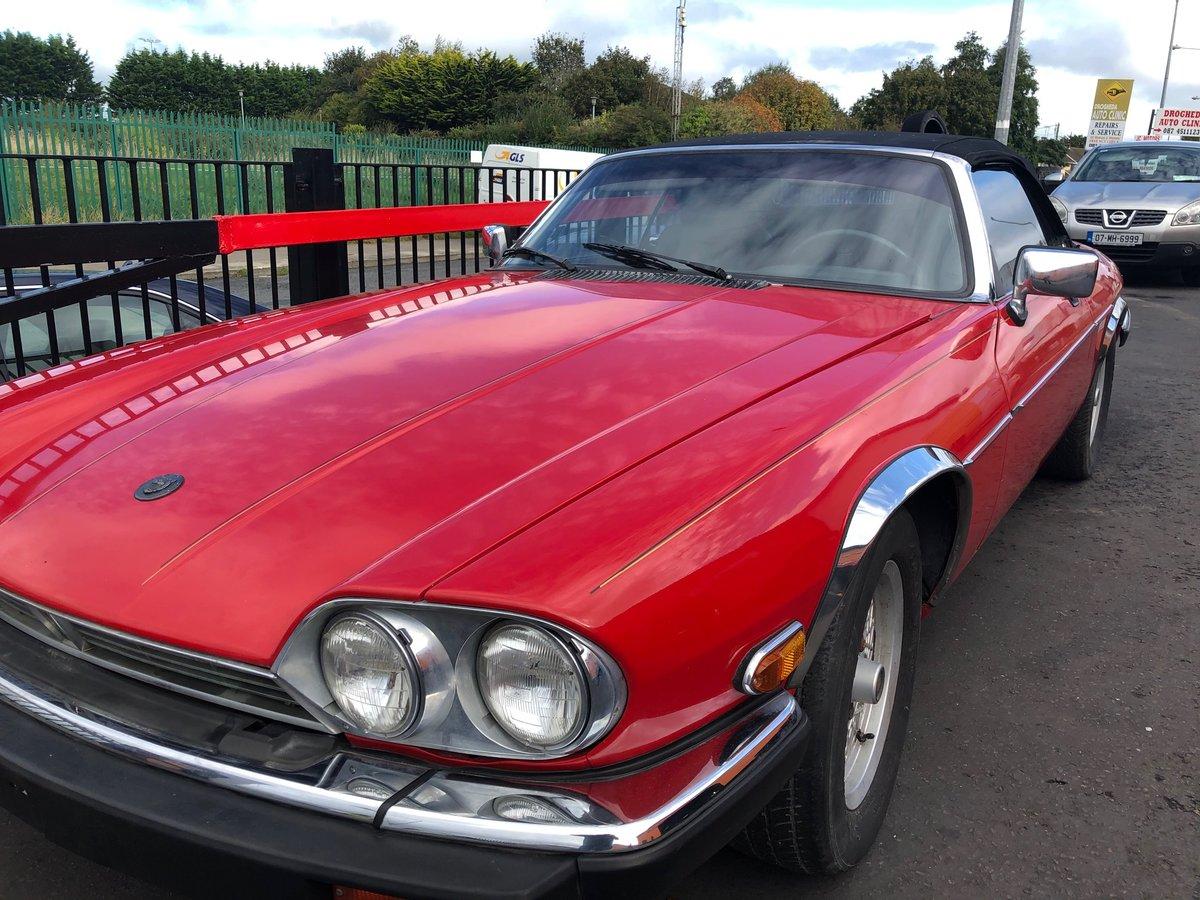 Jaguar XJS V12 1990 For Sale (picture 3 of 6)